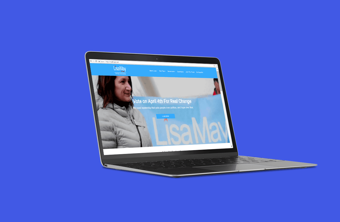 Lisa May Desktop Website KDC Services, LLC